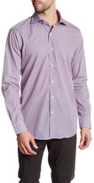 Peter Millar Trim Fit Geometric Print Sport Shirt