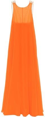 Halpern Georgette gown