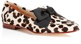 Kate Spade Cosetta Too Calf Hair Loafers