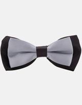Twotone Bow Tie - Silver