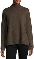 Vince Turtleneck Sweater, Dark Brown