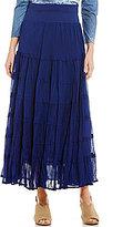 "Reba ""Western Spirit"" Joy Tiered Maxi Skirt"