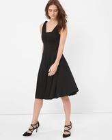 White House Black Market Genius Convertible Black Dress