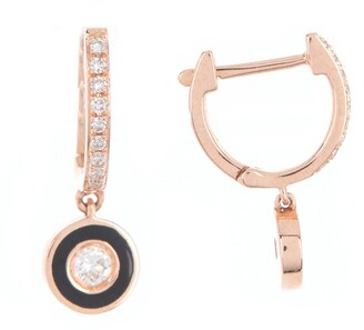 Black Diamond Pave Drop Earrings Shop The World S Largest Collection Of Fashion Shopstyle