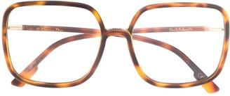 Christian Dior So Stellaire 1 oversized glasses