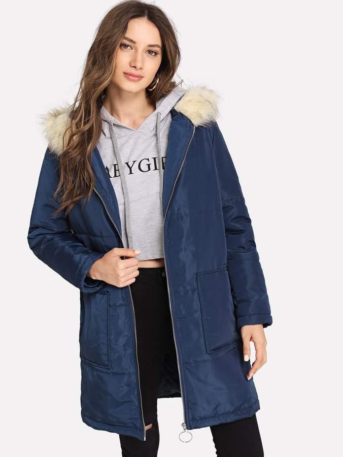630cb41da8 Shein Women's Coats - ShopStyle