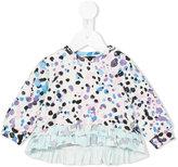 Roberto Cavalli animal print blouse - kids - Cotton/Spandex/Elastane - 6 mth