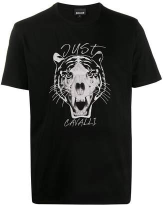Just Cavalli tiger-print t-shirt