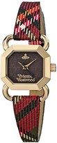 Vivienne Westwood Women's VV085BKBR Ravenscourt Analog Display Swiss Quartz Multi-Color Watch
