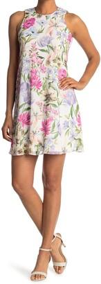 Calvin Klein Floral Trapeze Dress