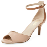 Seychelles Hazel Embossed Metallic Leather Sandal