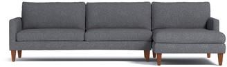 Apt2B Formosa 2pc Sectional Sofa RAF in SMOKE