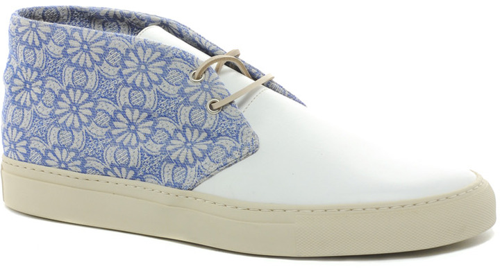 Buttero Embroidered Desert Boots