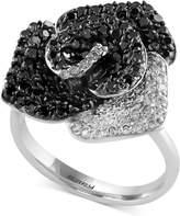 Effy Diamond Flower Ring (1-5/8 ct. t.w.) in 14k White Gold