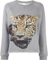 Giamba leopard print sweatshirt