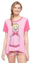 Nintendo Women's Princess Peach Pajama Set