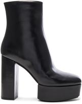 Alexander Wang Leather Cora Booties