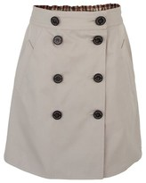 Aquascutum London Reversible Club Check Skirt
