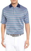 Bobby Jones Men's Xh20 Stripe Stretch Golf Polo