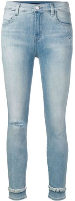 J Brand Alana high rise jeans