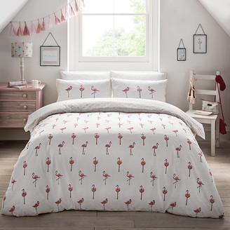 Flamingos Sophie Allport Duvet Set - Double