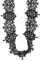 Design Lab Lord & Taylor Floral Lace Chocker Necklace