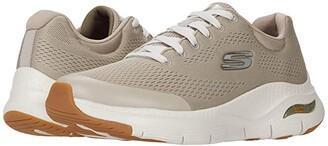 Skechers Arch Fit (Black/Black) Men's Shoes