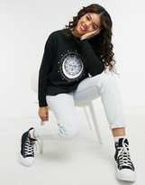 Thumbnail for your product : New Look pastel mystic sweatshirt in black