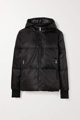 All Access - Beats Hooded Quilted Shell Down Jacket - Black