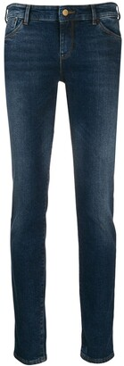 Emporio Armani Logo Skinny Jeans