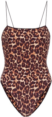 Tropic Of C The C leopard-print swimsuit