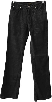 Roberto Cavalli Anthracite Cotton - elasthane Jeans for Women Vintage