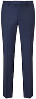 Daniel Hechter Pindot Tailored Suit Trousers, Navy