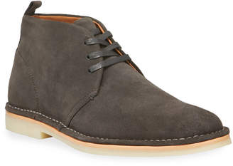 Kenneth Cole Men's Lace-Up Suede Chukka Boots