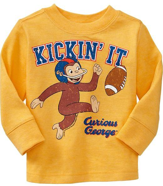 "Old Navy Curious George® ""Kickin' It"" Tees for Baby"