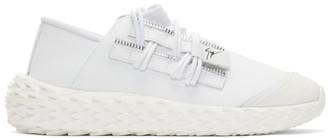 Giuseppe Zanotti White Ulan Urchin Sneakers