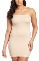 Dr. μ Dr. Rey Shapewear Womens Fused Edge Strapless Shaping Slip
