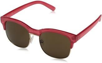 H Halston Women's HH 137 Rectangular Fashion Designer UV Protection Sunglasses