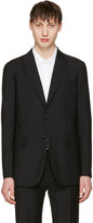 Jil Sander Black Two-button Suit Blazer