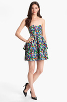 Kate Spade 'karmen' Cotton Blend Fit & Flare Dress