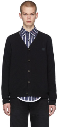 Acne Studios Black Face Cardigan