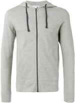 James Perse zipped hoodie - men - Cotton - M