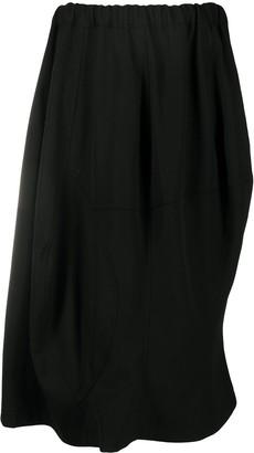 Comme des Garçons Comme des Garçons Elasticated Asymmetric Skirt
