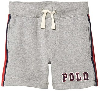 Polo Ralph Lauren Terry Pull-On Shorts (Toddler) (Andover Heather) Boy's Shorts
