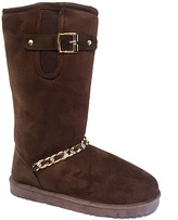 Brown Chain Boot
