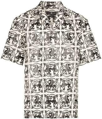 Edward Crutchley regal animal print shirt