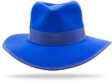 Jezebel Worth & Worth by Orlando Palacios Blue Hat