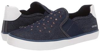 Geox Kids Kilwi Girl 51 (Big Kid) (Navy) Girl's Shoes