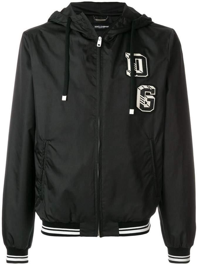 Dolce & Gabbana embroidered logo jacket