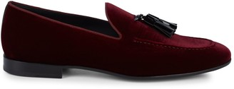 Magnanni Velvet Tassel Loafers